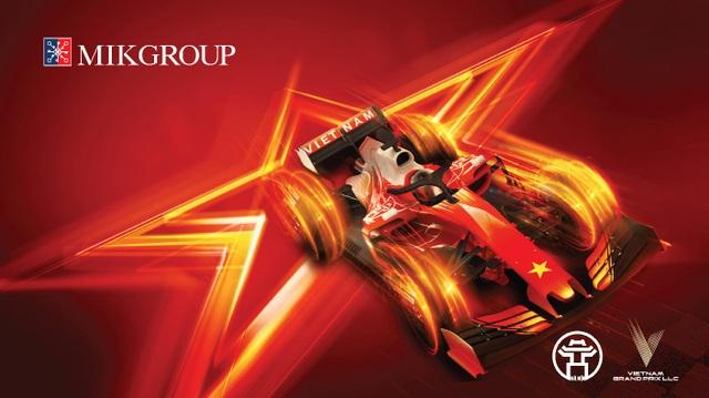 MIKGroup – Thương hiệu duy nhất được đặt tên khán đài F1 - 1
