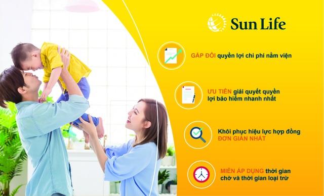 Nhiễm nCoV được Sun Life Việt Nam hỗ trợ đặc biệt - 2