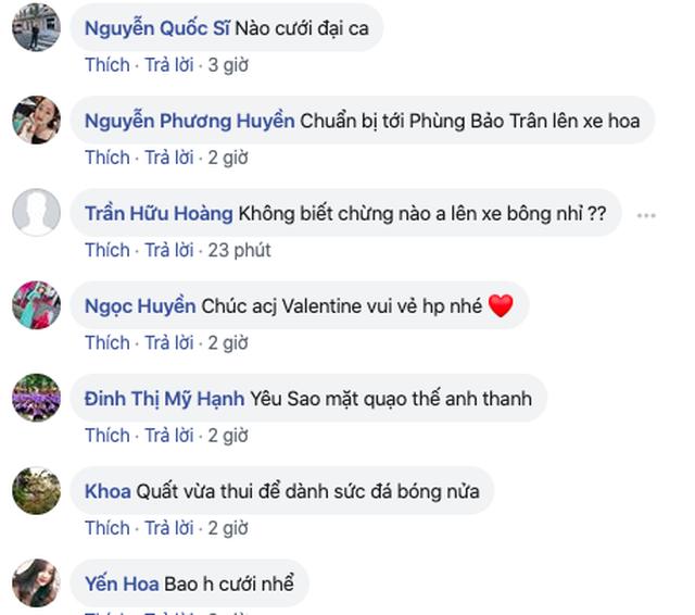 Cầu thủ Vũ Văn Thanh tỏ tình mùi mẫn với bạn gái, fan hô hào mau cưới đi - 3
