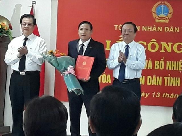 TAND tỉnh Đồng Tháp có Chánh án mới - 1