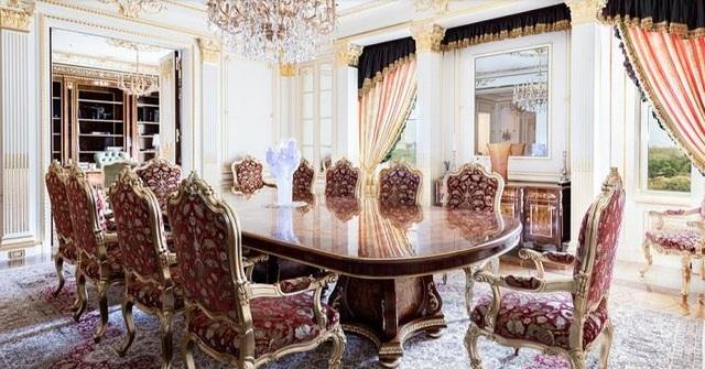 Lóa mắt căn hộ dát vàng xa xỉ, giá hàng ngàn tỷ đồng của tỷ phú người Nga - 1