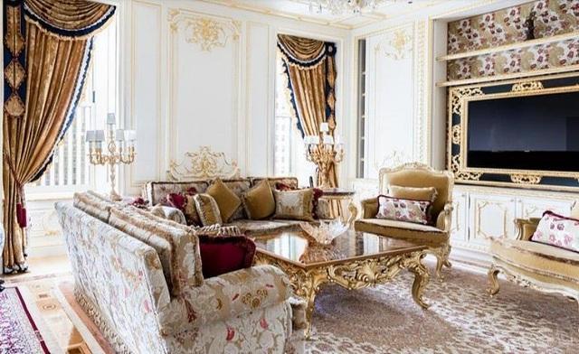 Lóa mắt căn hộ dát vàng xa xỉ, giá hàng ngàn tỷ đồng của tỷ phú người Nga - 3