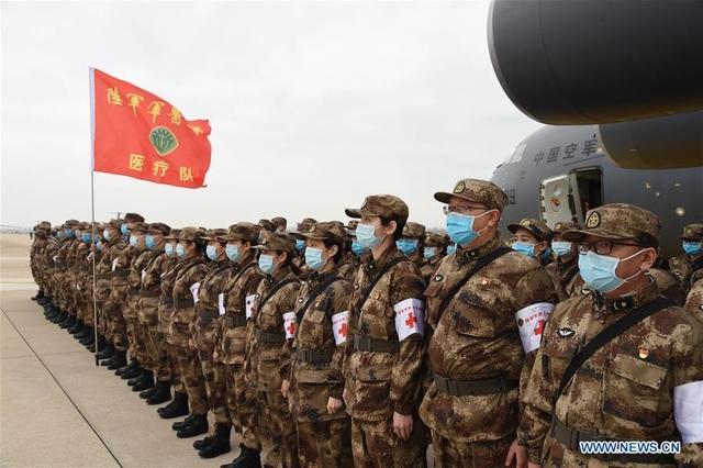 """Trung Quốc điều 11 máy bay quân sự chở hàng nghìn quân y """"giải cứu"""" Vũ Hán - 5"""