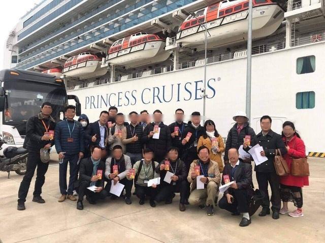 Sức khỏe HDV Việt Nam dẫn đoàn khách trên du thuyền Nhật Bản vẫn ổn định - 3