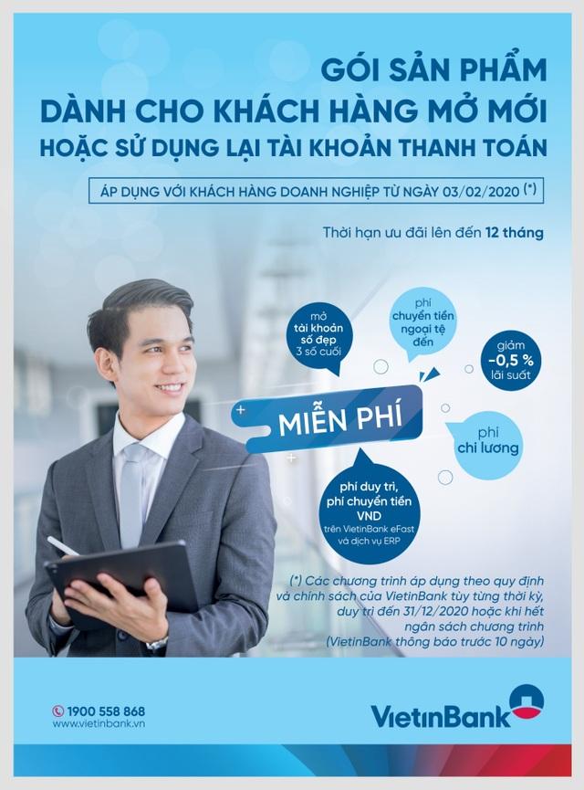 VietinBank đồng hành cùng doanh nghiệp với nhiều gói tín dụng ưu đãi - 1