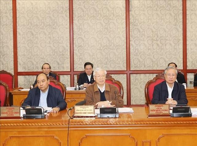 Bộ Chính trị cho ý kiến hoàn thiện dự thảo Văn kiện Đại hội XIII của Đảng - 2