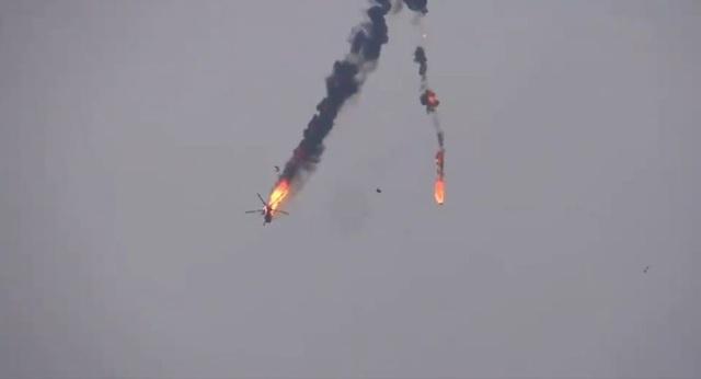 Trực thăng quân sự thứ 2 của Syria bị bắn rơi trong vòng 3 ngày - 1
