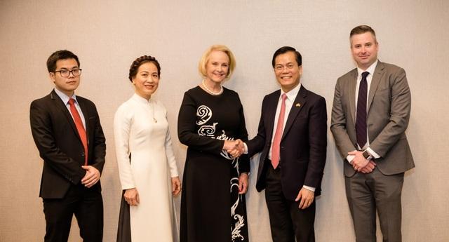 Đại sứ quán Việt Nam bắt đầu các hoạt động kỷ niệm 25 quan hệ Việt-Mỹ - 7