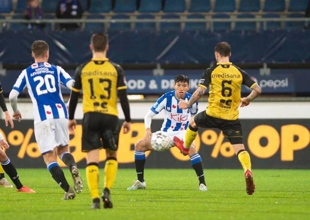 Mỗi phút Văn Hậu ra sân cho Heerenveen đáng giá... 1 tỷ đồng - 1