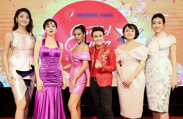 U40 Lệ Quyên đọ sắc cùng hoa hậu Đỗ Mỹ Linh, Lương Thùy Linh - 2
