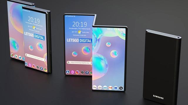 Samsung tự tin có thể làm smartphone 3 màn hình gập - 1