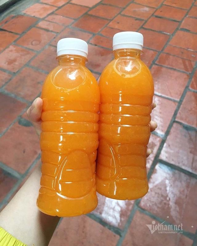 Ngày vắt 5 tạ cam, dân vỉa hè kiếm tiền triệu mùa dịch Covid-19 - 1
