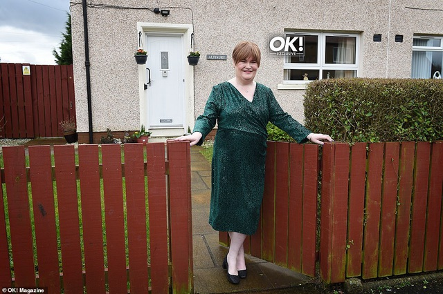 Susan Boyle và lần hiếm hoi khoe ngôi nhà nhỏ ấm cúng - 1