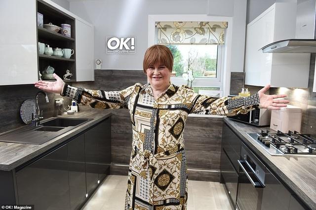 Susan Boyle và lần hiếm hoi khoe ngôi nhà nhỏ ấm cúng - 5