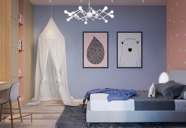 Phòng ngủ sáng tạo khiến cả bé và bố mẹ đều mê - 2