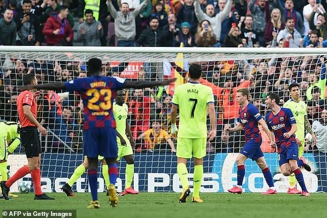 Griezmann tỏa sáng, Barcelona đánh bại đội xếp thứ ba La Liga - 5