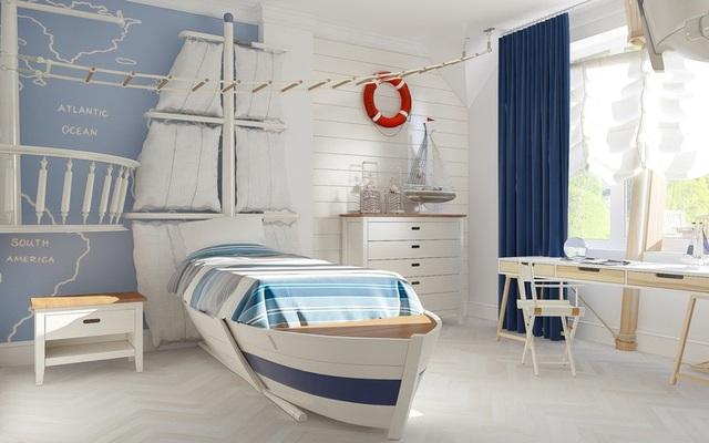 Phòng ngủ sáng tạo khiến cả bé và bố mẹ đều mê - 3