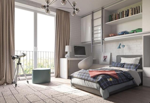 Phòng ngủ sáng tạo khiến cả bé và bố mẹ đều mê - 4