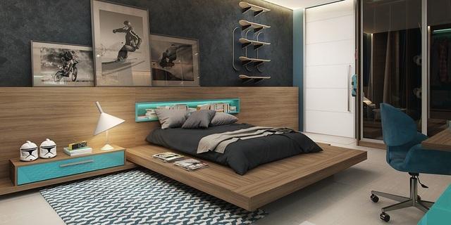 Phòng ngủ sáng tạo khiến cả bé và bố mẹ đều mê - 5
