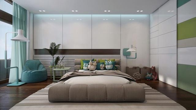 Phòng ngủ sáng tạo khiến cả bé và bố mẹ đều mê - 6