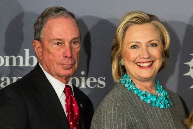 """Rộ tin đồn tỷ phú Bloomberg muốn bà Clinton trở thành """"phó tướng"""" - 1"""
