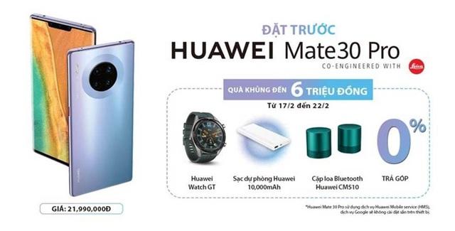 Huawei Mate 30 Pro chính thức phân phối tại VN, đã xài Facebook được chưa? - Ảnh minh hoạ 4