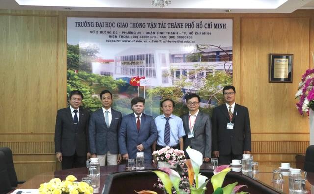 Trường ĐH Giao thông Vận tải TPHCM thành lập nhóm nghiên cứu mạnh đầu tiên - 1