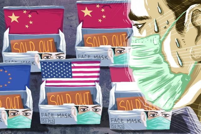 Thiếu hụt khẩu trang ở Trung Quốc gây nên những gợn sóng trên toàn cầu - 1