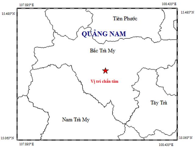 Động đất nhẹ xảy ra ở thủy điện Sông Tranh 2 - 1