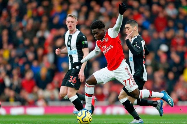 Những khoảnh khắc trong chiến thắng giòn giã của Arsenal trên sân Newcastle - 11