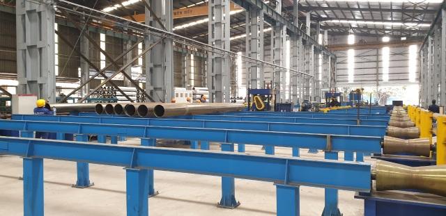 Hòa Phát ra mắt ống thép cỡ lớn - đường ống siêu lớn, thành ống siêu dày - 2