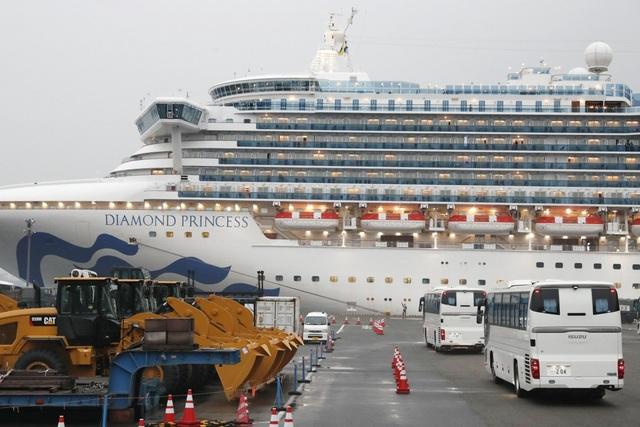 Thêm 99 người nhiễm virus corona trên du thuyền ở Nhật Bản - 1