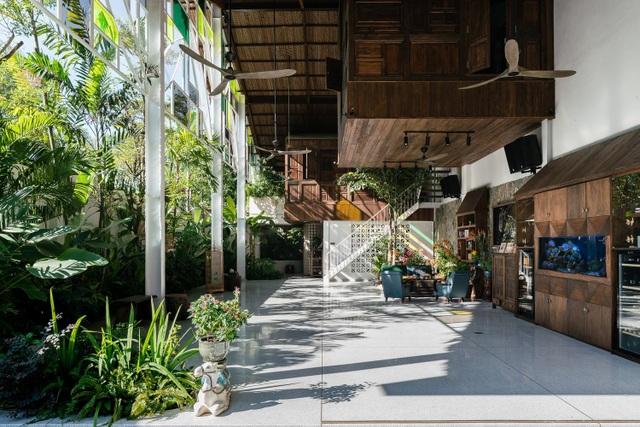 Vẻ đẹp không ngờ của ngôi nhà tổ chim tràn ngập cây xanh ở Sài Gòn - 4