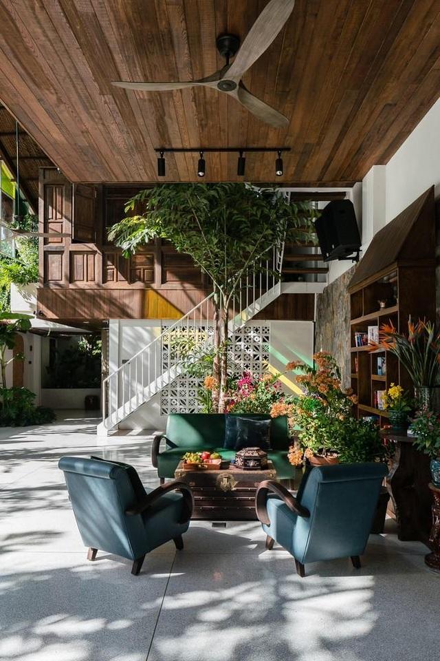 Vẻ đẹp không ngờ của ngôi nhà tổ chim tràn ngập cây xanh ở Sài Gòn - 5