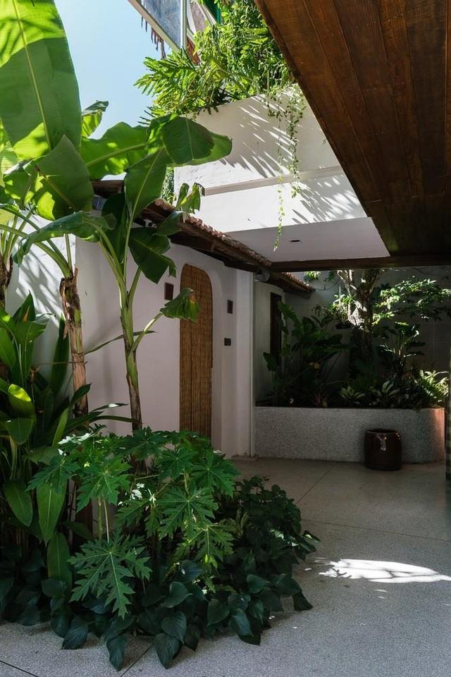Vẻ đẹp không ngờ của ngôi nhà tổ chim tràn ngập cây xanh ở Sài Gòn - 10