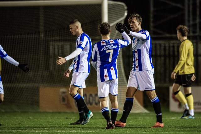Văn Hậu góp công vào chiến thắng của đội trẻ Heerenveen - 1