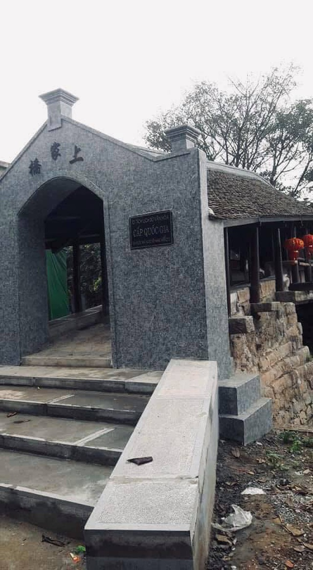 Tranh cãi trước việc tu sửa di tích Quốc gia cầu ngói chợ Thượng  - 2