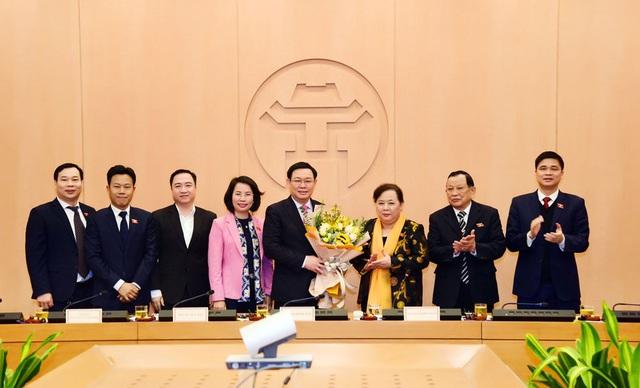 Ông Vương Đình Huệ được bầu làm Trưởng đoàn đại biểu Quốc hội Hà Nội - 1