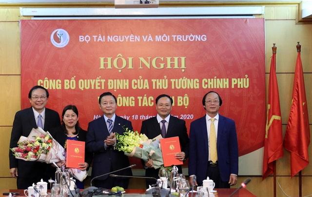 Công bố Quyết định bổ nhiệm và tái bổ nhiệm Thứ trưởng Bộ TN-MT - 1