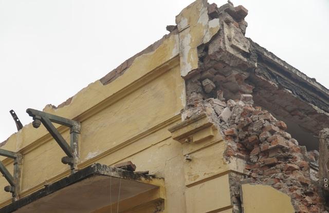 Cảnh tan hoang tại trạm phát sóng Bạch Mai trước ngày lập hồ sơ di tích - 11
