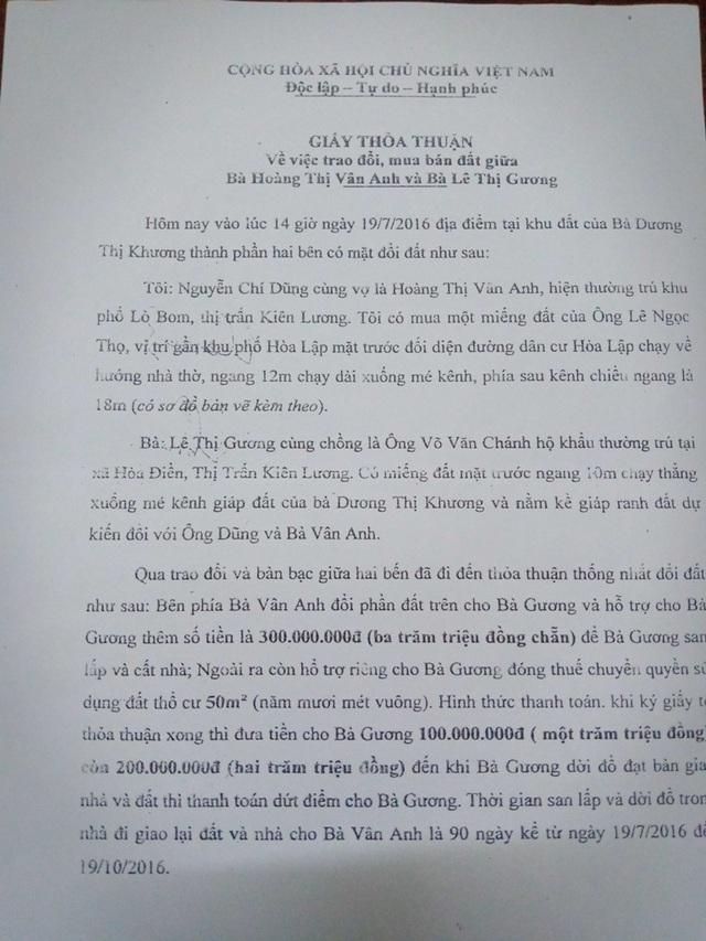 Diễn tiến ly kỳ vụ chặt cây trên đất đã mua suýt ngồi tù tại Kiên Giang - 1