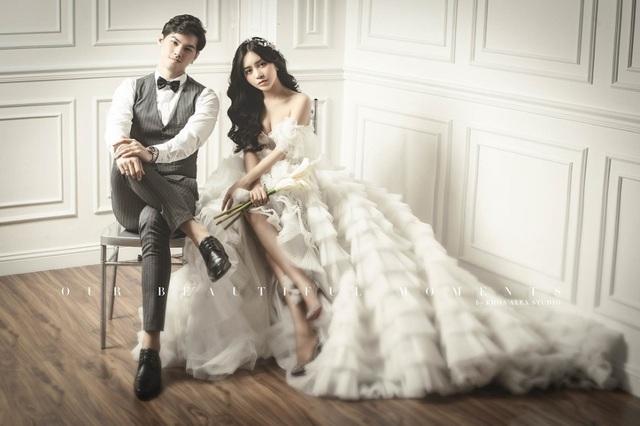 Hot girl Trang Anna và bạn trai Thái Lan khoe ảnh cưới đẹp như poster - 4
