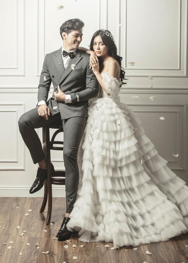 Hot girl Trang Anna và bạn trai Thái Lan khoe ảnh cưới đẹp như poster - 5