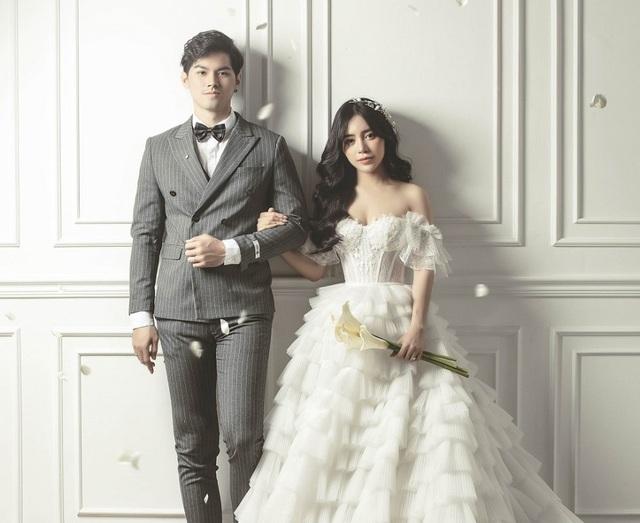 Hot girl Trang Anna và bạn trai Thái Lan khoe ảnh cưới đẹp như poster - 7