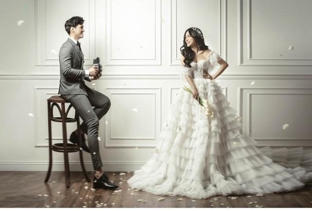 Hot girl Trang Anna và bạn trai Thái Lan khoe ảnh cưới đẹp như poster - 8