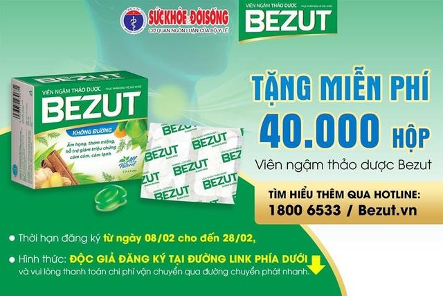 Bezut đồng hành cùng Báo SKĐS trao tặng hơn 10.000 sản phẩm cho tỉnh Vĩnh Phúc - 3