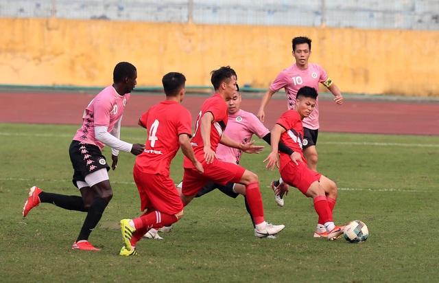 Quang Hải vắng mặt, CLB Hà Nội hòa Viettel ở Hàng Đẫy - 1
