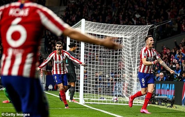 Atletico Madrid 1-0 Liverpool: Bàn thắng duy nhất của Saul - 12