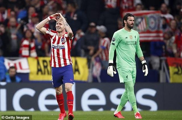 Atletico Madrid 1-0 Liverpool: Bàn thắng duy nhất của Saul - 13