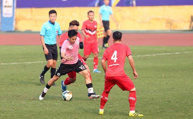 Quang Hải vắng mặt, CLB Hà Nội hòa Viettel ở Hàng Đẫy - 2